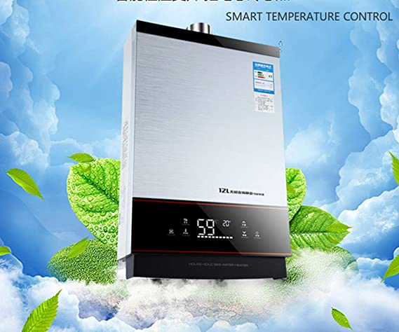 SMART Constante Calentador De Agua Caliente Con Control De Temperatura Emisión Fuerte Tipo Lgp Instantáneo/Sin Tanque 12L Gas Propano Líquido: Amazon.es: ...