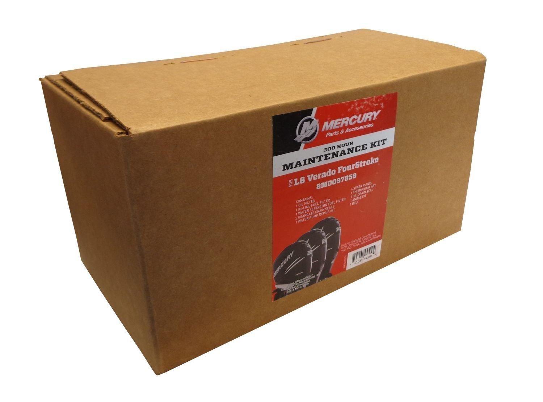 Amazon.com: MERCURY OEM 300 Hour Maintenance Kit for L6 Verado FourStroke  Outboard 8M0097859: Sports & Outdoors