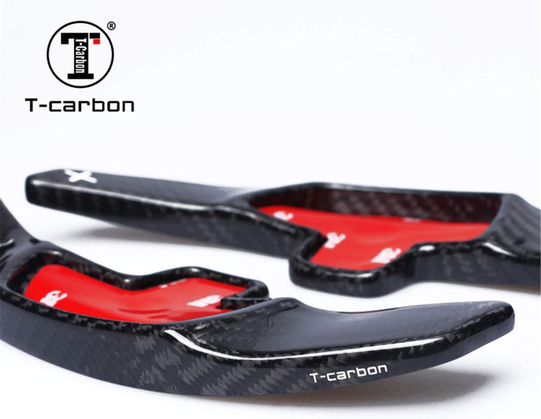 Black Paddle Shift Trim For Men and Women M.JVisun Genuine Carbon Fiber Car Steering Wheel Shift Blade Paddle Shifter Extension For Mercedes-Benz Mercedes C180L C200L C260L CLA GLC GLE S Class