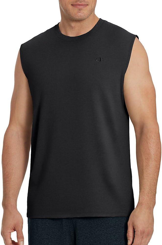 Champion Men's Classic Jersey Muscle T-Shirt