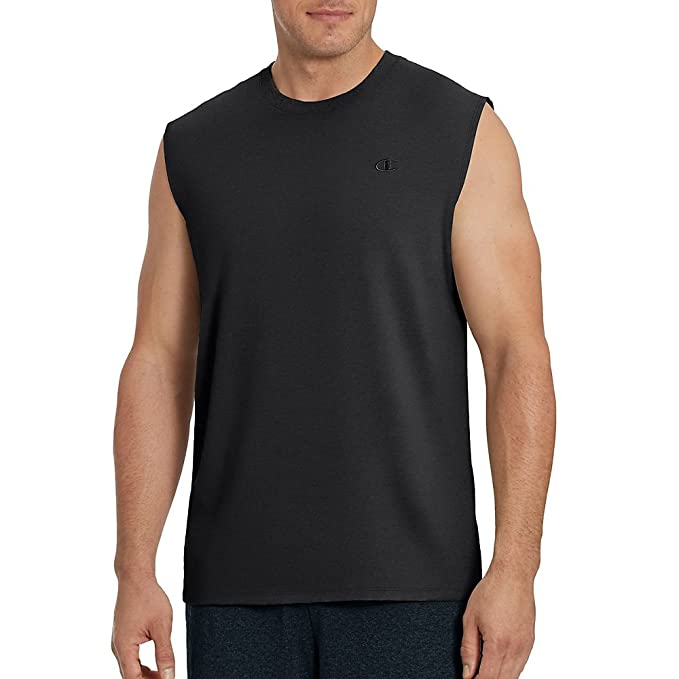 c013bc99e5f0 Champion Men's Classic Jersey Muscle Tee Shirt at Amazon Men's Clothing  store: