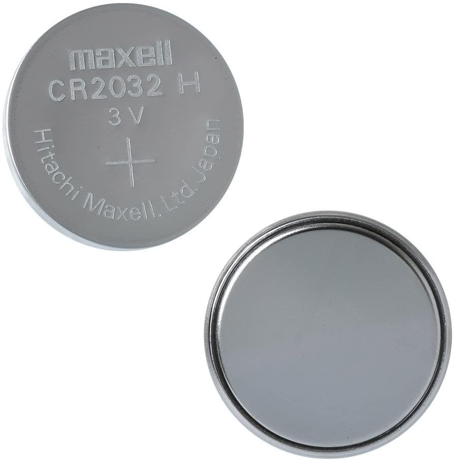 Amazon.com: Maxell Micro Lithium Cell CR2032 (pack of 5 Batteries): MAXELL:  Home Audio & Theater