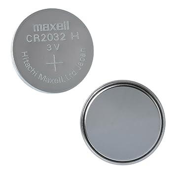 Maxell CR2032 3 V batería de litio pilas de botón moneda, Plateado, Pack de 20: Amazon.es: Hogar