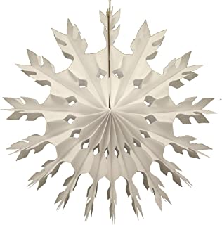 product image for Devra Party 6-Pack 15 Inch Tissue Paper Snowflake (White)