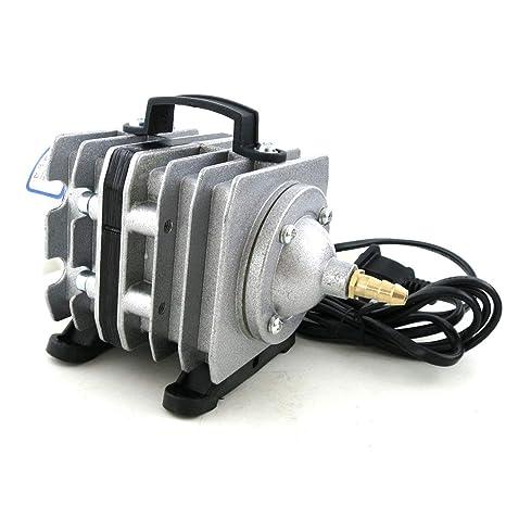 Delicacydex Compresor de Aire electromagnético de Acuario de 20 W Bomba de oxígeno del compresor de