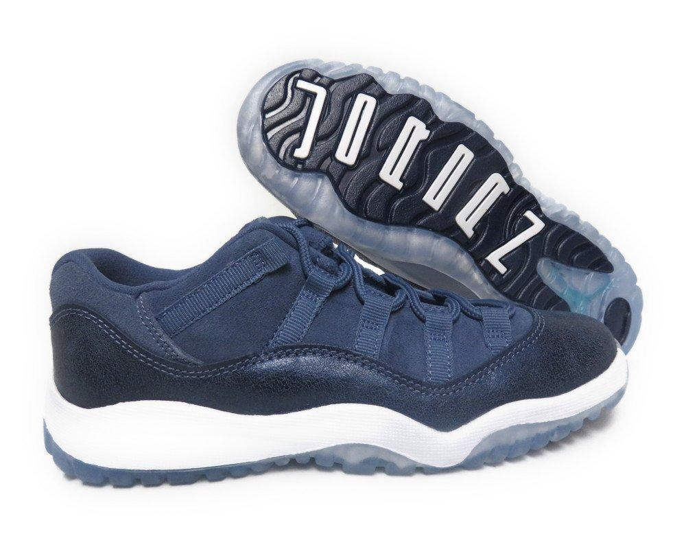 Jordan 11 Retro Low GP Little Kid's Shoes Blue Moon/Polarized Blue 580522-408 (13 M US)