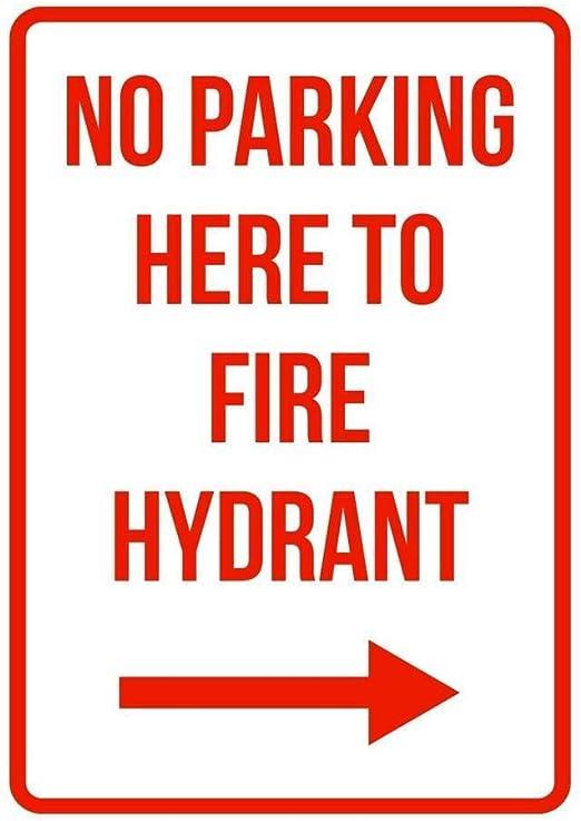 "No Parking Do Not Block Driveway Aluminum Metal Novelty 12/"" x 12/"" Notice Sign"