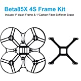 BETAFPV 1pc Beta85X 4K Cine Whoop Black Frame Carbon Stiffener Brace for 1105 Brushless Motor Beta85X Cine Whoop Drone (Beta85X 4S フレーム)