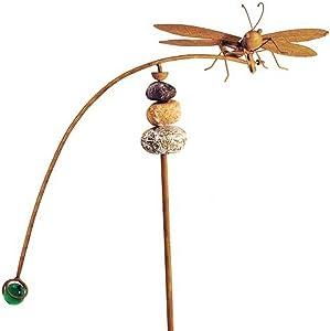 Red Carpet Studios Balancing Buddies Large Yard Art, Dragonfly