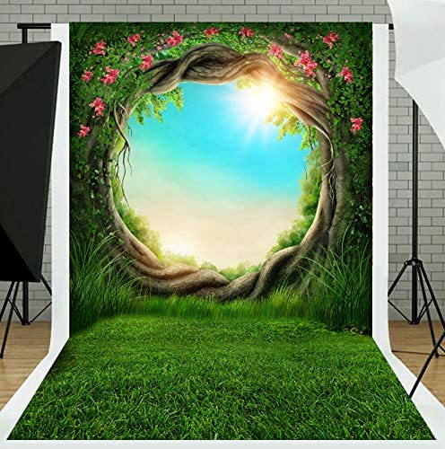 United States 10x15 FT Backdrop Photographers,Tall Trees Red Woods Forest Humboldt California Sequoia Picture Background for Baby Shower Birthday Wedding Bridal Shower Party Decoration Photo Studio
