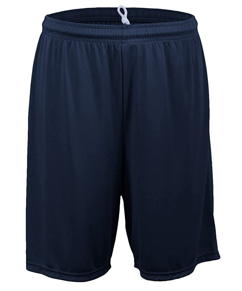 MJ Soffe 1540B Youth Interlock Short LRG Navy