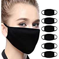 6Pcs Bandana Face Mouth Cover Face Buff Headwear Dust Anti-Pollution Anti-smog, Riding Dustproof Mouth
