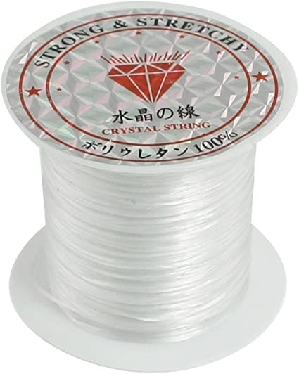 Stretch Magic Elastic Beading Thread Cord Crystal  Jewellery Making Rope 50M