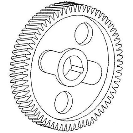 Amazon Com 312500r1 New Case Ih Camshaft Timing Gear 250 454 460
