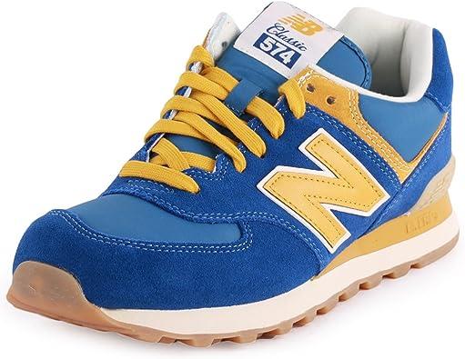 New Balance Damen 574 Classic Laufschuhe (blau) 39
