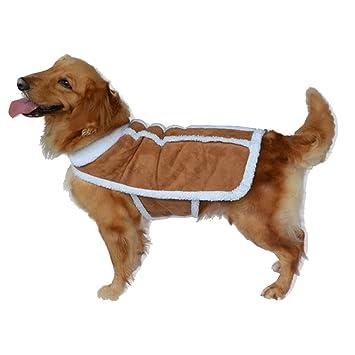 Ropa De Invierno Ropa para Mascotas Abrigo De Perro Grande ...