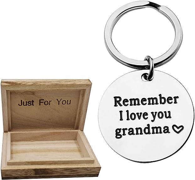 Grandma Keychain Mother/'s Day Grandma Gift Nana Keychain Gift for Nana Mamaw Nana/'s Love is Endless Mom Gift Mommy Keychain