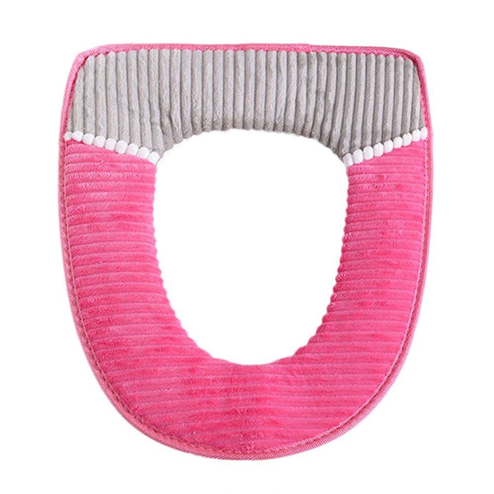 4 Farben Optionen Pochers Badezimmer Protektor Closestool Weicher W/äRmer Alle Form Toilettendeckel Sitz Deckel Pad