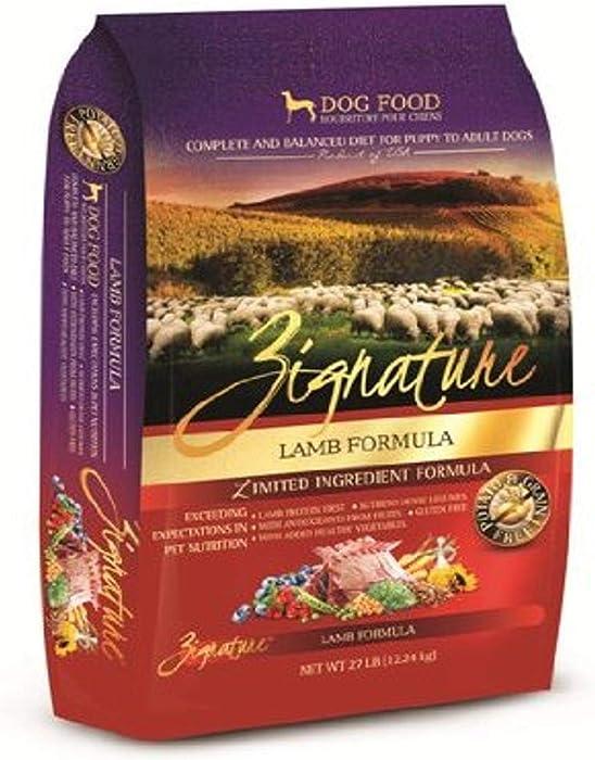 Zignature Limited Ingredient Lamb Formula Dry Dog Food