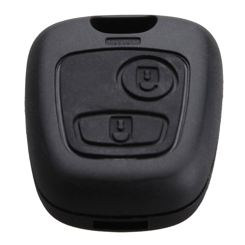 2 Botó n Carcasa de mando key Citroen C1 C2 C3 C4 XSARA Picasso Peugeot 107 207 307 407 106 206 306 406 LianLe