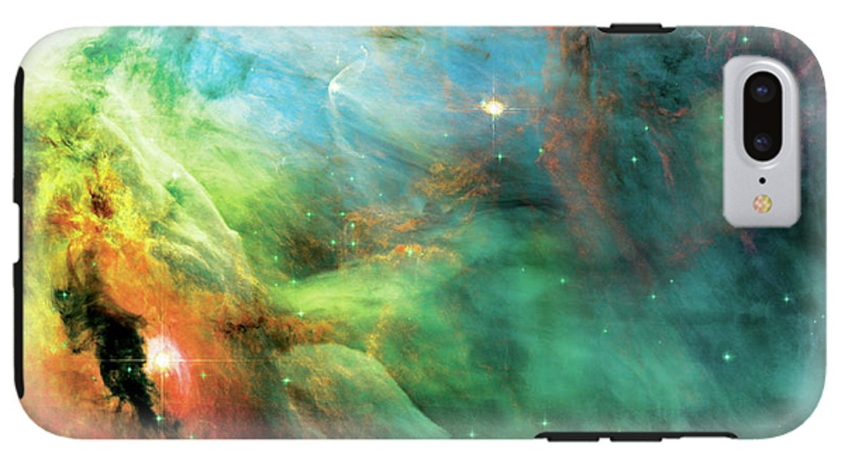 iPhone 8 Plus Case ''Rainbow Orion Nebula'' by Pixels