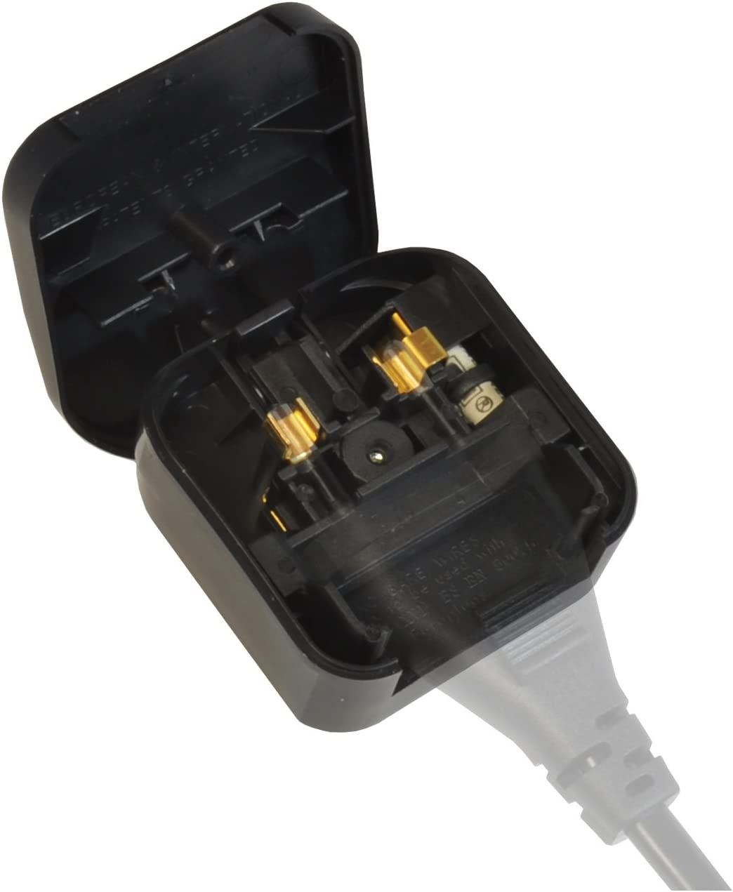 POWER PLUG EU Standard AC POWER CABLE CORD Plug Connector for HIFI AUDIO DIY x1