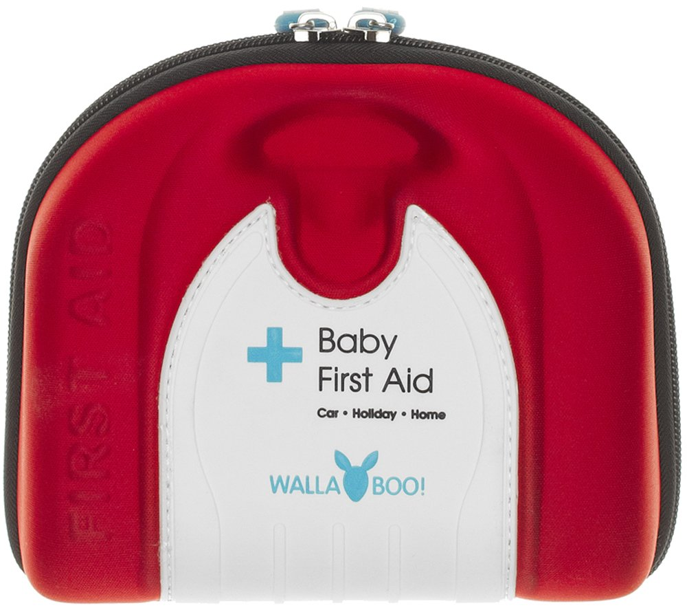 Wallaboo Basic First Aid Kit for Babies, Durable and Sturdy, Camper BFA.0212.4201