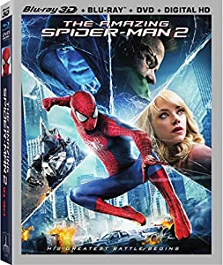 Cover Image for 'Amazing Spider-Man 2, The  (3D/Blu-Ray/DVD/UltraViolet Combo Pack)'