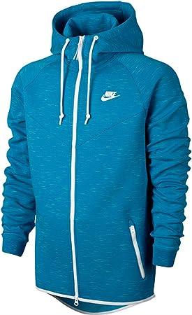 Nike Tech Fleece Windrunner Hoodie Light Blue 545277 452 L Amazon Ca Sports Outdoors