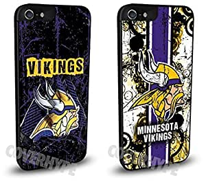 Minnesota Vikings Cell Phone Hard Case TWO PACK for iPhone 5c