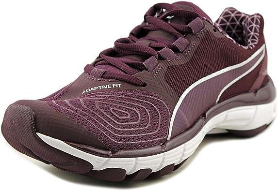 trabajo duro Guiño para agregar  Amazon.com: Puma Mobium Elite Speed V2 PW Ronda Toe lona zapatillas de  tenis, Púrpura, 6 B(M) US: Shoes