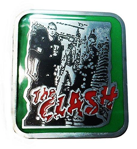 The Clash Punk Rock Band Metal/Enamel Belt - Clash Belt