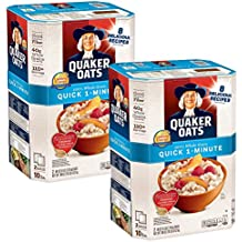 Quaker Oats 100% Whole Grain Quick 1-Minute Oatmeal Instant Oatmeal - 10 Pounds x Pack of 2