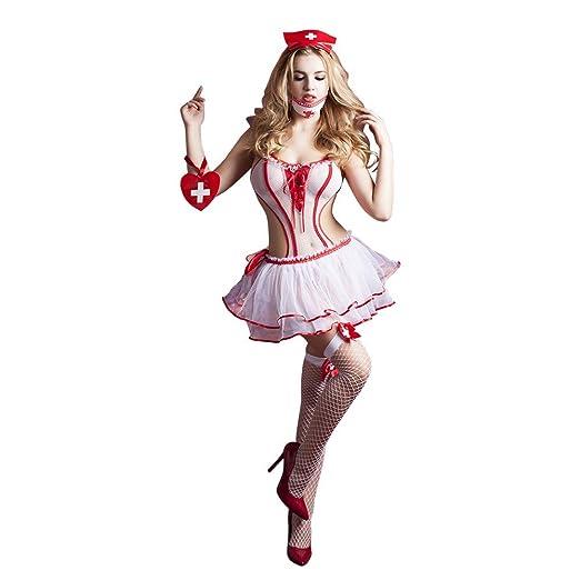 Conjunto de ropa interior sexy de mujer Ropa de enfermera ...