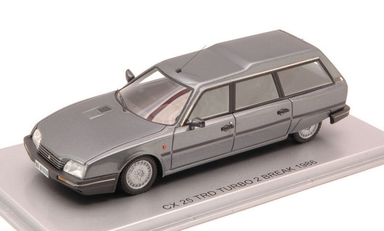 Amazon.com: KESS MODEL KS43011020 CITROEN CX 25 TRD TURBO 2 BREAK 1986 GUN GREY MET.1:43: Toys & Games