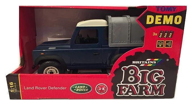 Britains Big Farm 1:16 Escala Land Rover Blue Land Rover Defender 110: Amazon.es: Juguetes y juegos