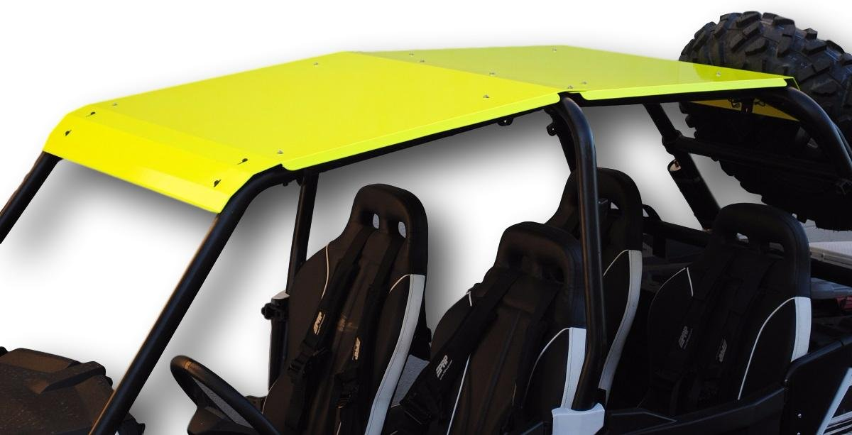 2014-2018 4-Door Polaris RZR XP 1000/Turbo/900 Aluminum Roof (Lime)
