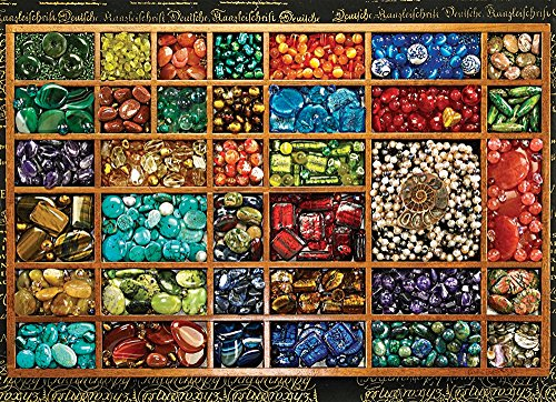 COBBLE HILL Bead Tray Jigsaw Puzzle (1000 Piece)