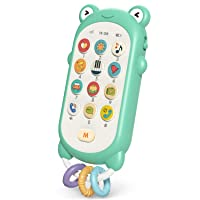 Gxi Baby Phone Toy Early Educational Toy Telephone Pretend Play for 12-18 Month Infant