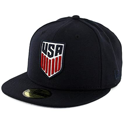 Image Unavailable. Image not available for. Color  New Era 5950 United  States of America USA Fitted Hat ... dba8a5d21de4