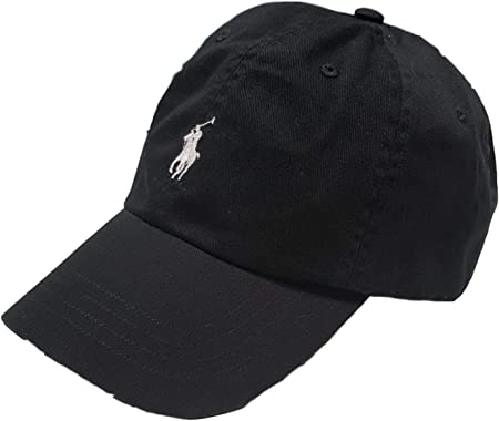 Ralph Lauren - Gorra deportiva clásica para hombre, color negro