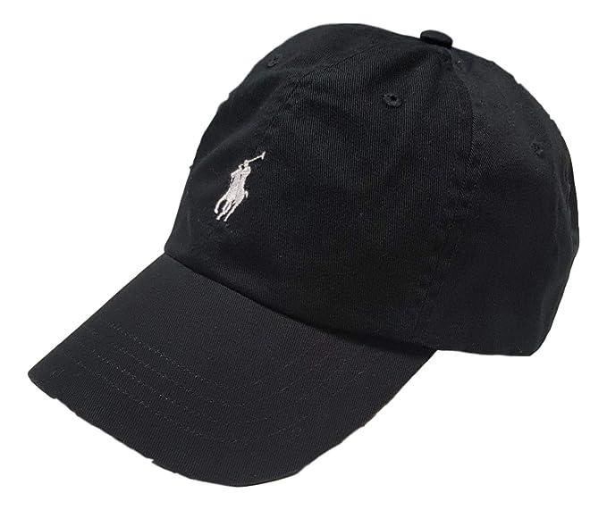competitive price 1486c 4c040 Ralph Lauren - Cappellino da Baseball - Uomo Nero Nero ...