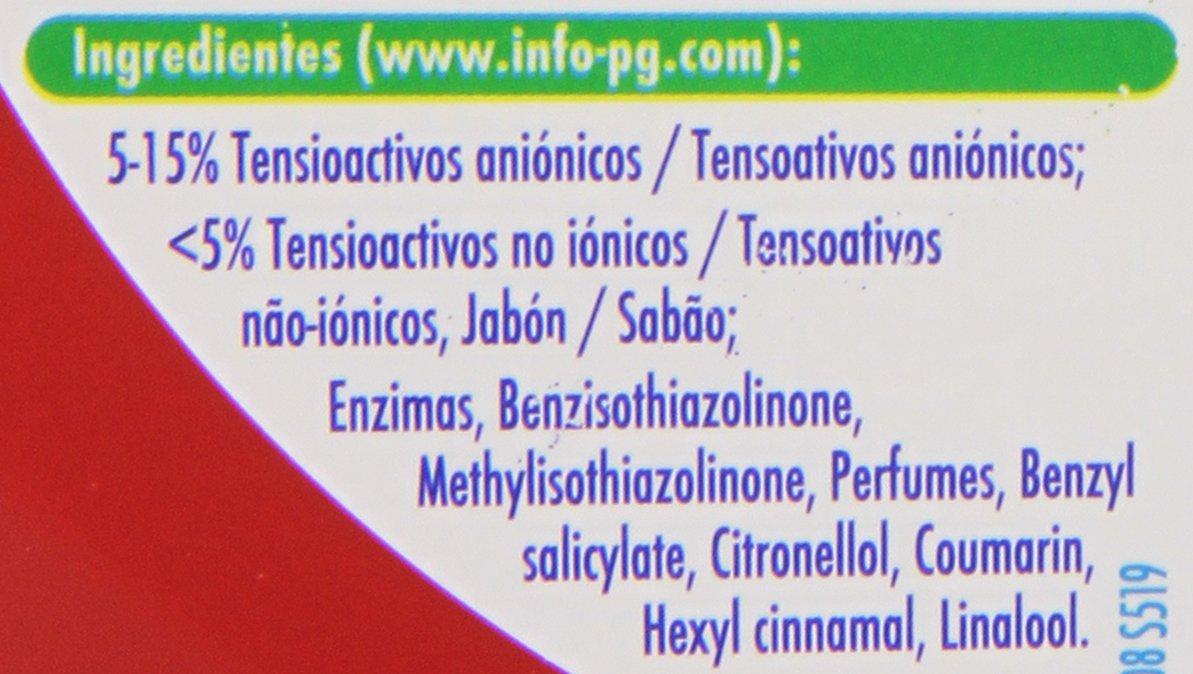Ariel - Básico - Detergente líquido para lavadora - 1625 ml: Amazon ...