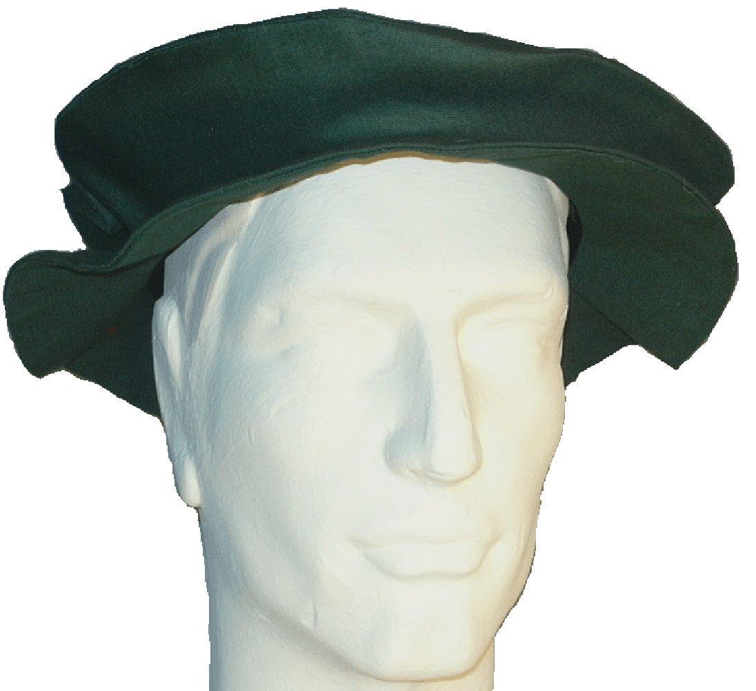 Men's Renaissance Tudor Green Flat Cap - DeluxeAdultCostumes.com