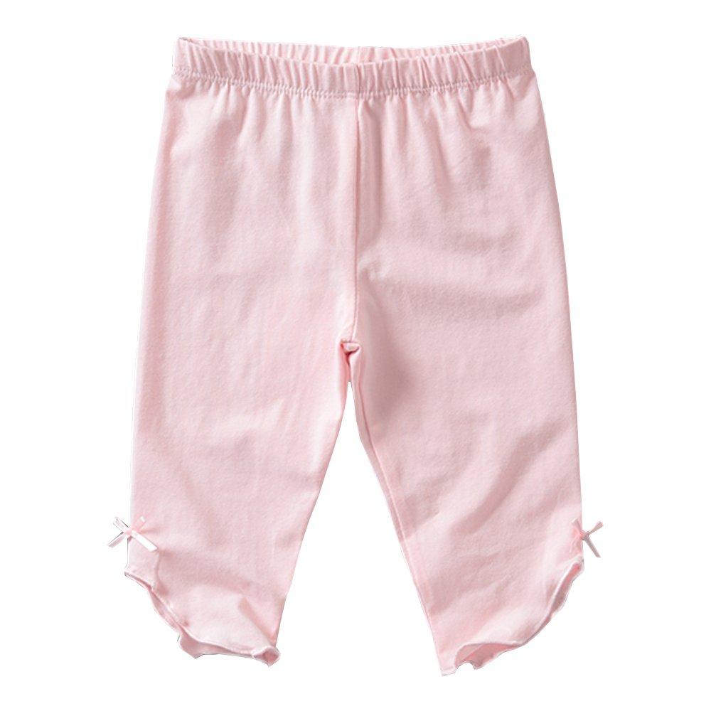 KIDS BRON Cotton Capri Crop Summer Leggings for School Or Play (3-Packs) (4T/Toddler Girl, 3pk-Capri BWP) by KIDS BRON (Image #4)