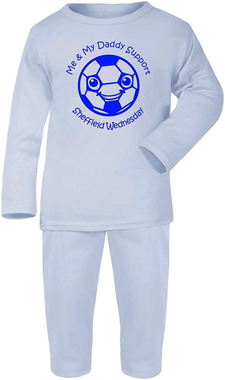 Hat-Trick Designs Sheffield Wednesday Football Baby Pyjamas set PJs Nightwear/Sleepwear-Me & My-Unisex Gift