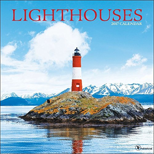 TF Publishing 171098 Wall Calendar, Lighthouses