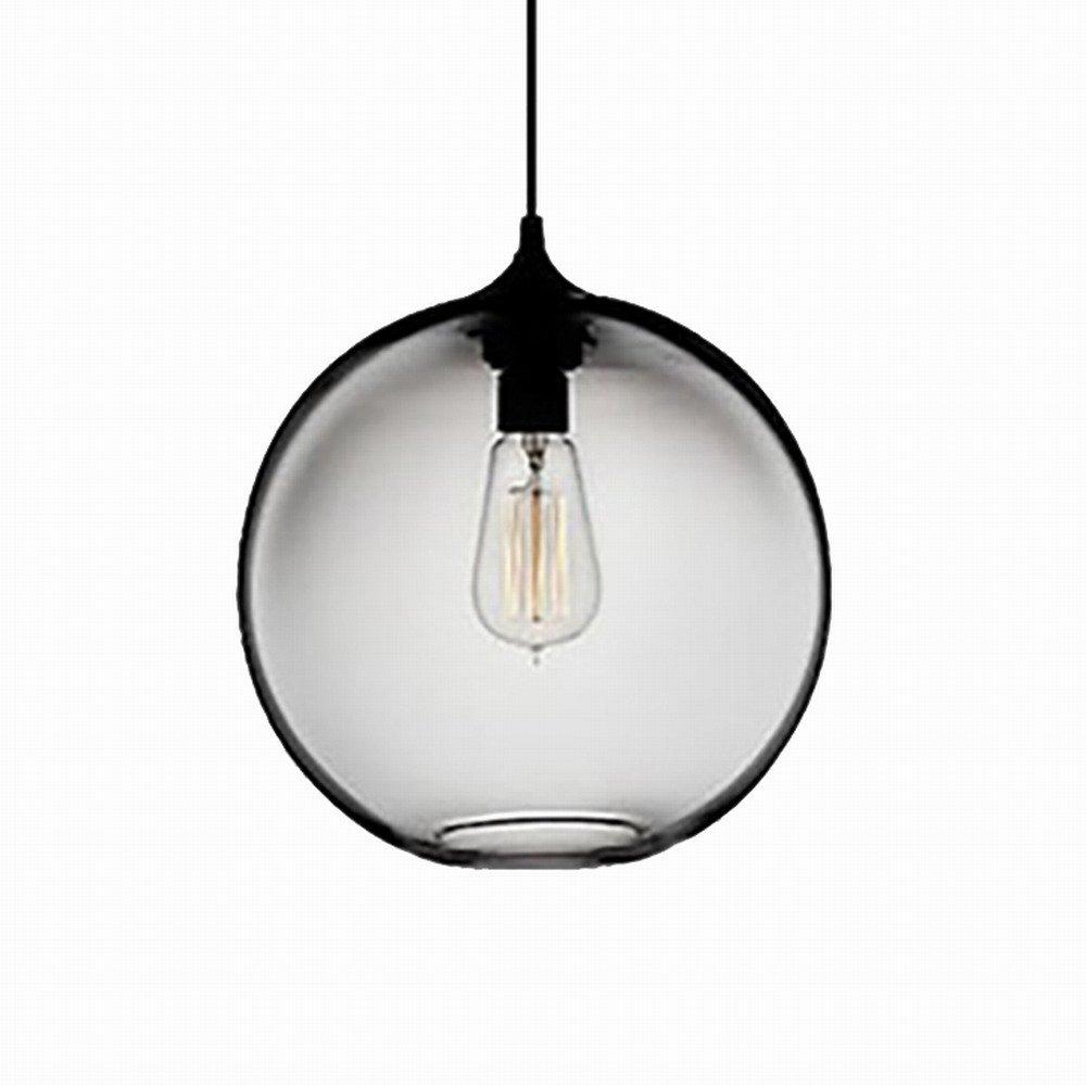 Newrays Modern Single Glass Pendant Lighting Ceiling Light for Kitchen Island Lighting Fixtures