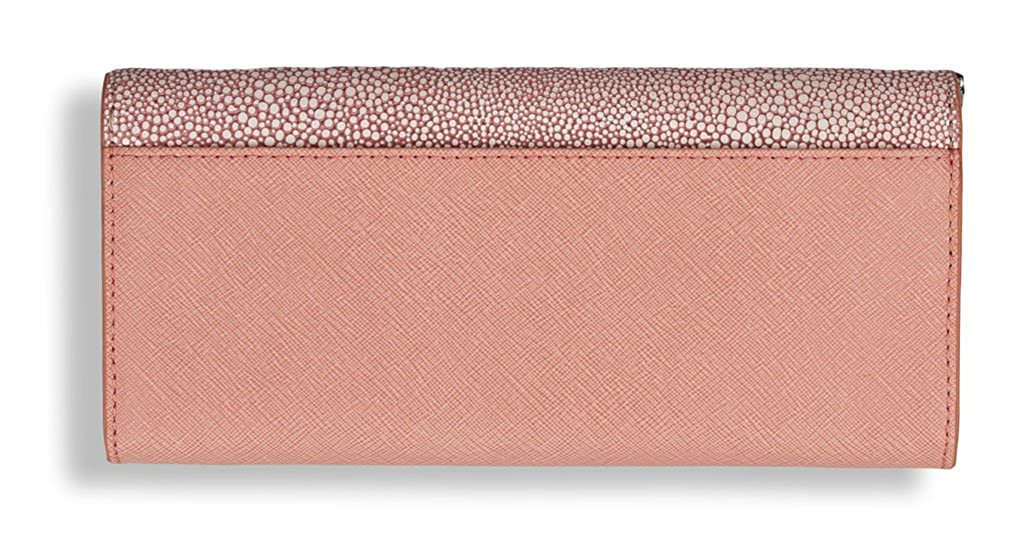 1b539714ef03 MICHAEL Michael Kors Juliana Large 3-in-1 Saffiano Leather Wallet in Pale  Pink: Amazon.co.uk: Shoes & Bags