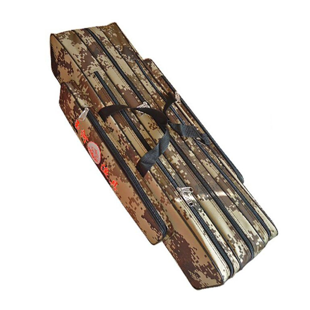 Fishing Rod Cases Tubes Fishing Gear Fishing Poles Bags Camouflage 80 cm George Jimmy
